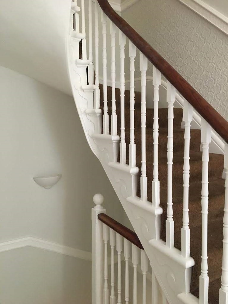 Period stairwell in Kingsdown